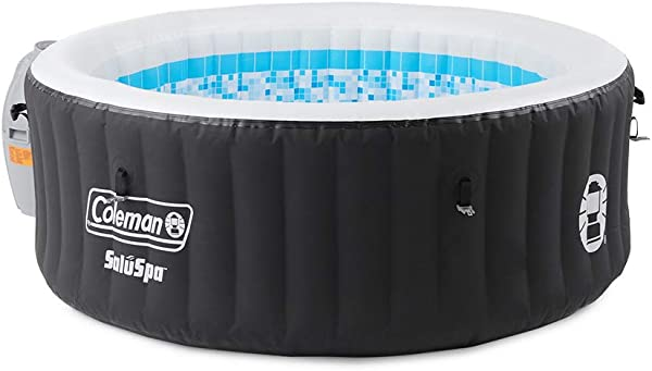 Coleman SaluSpa Portable 4 Person Outdoor Inflatable Hot Tub Spa