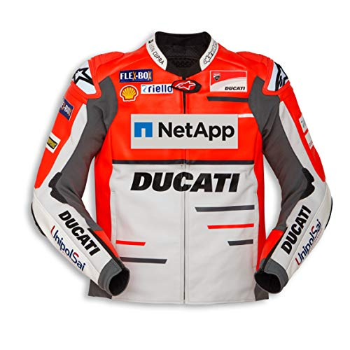 Limited Edition Ducati Replica '18 Leather Jacket (50) ()