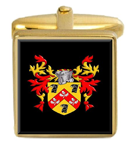 Select Gifts Anderson Scotland Family Crest Coat Of Arms Heraldry Cufflinks Box Set Engraved