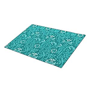 Bestgoon Outdoor Floor Mats Formal Washable Door Mat Vintage Rose Rubber Door Mat Color