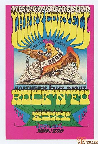 Larry Coryell Handbill Rock'n'Fu Roxy 1970 Jun 13 The BARN Rio Nido
