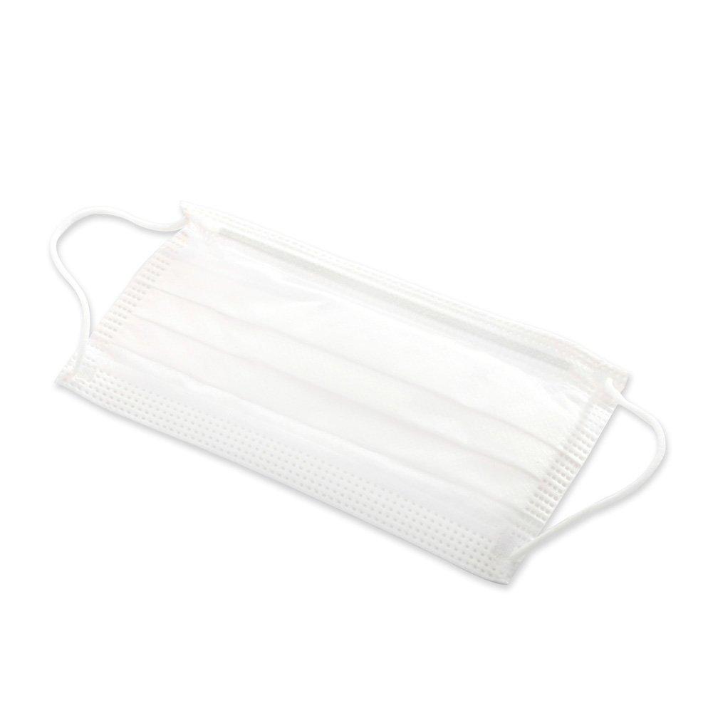MediChoice Procedure Face Mask, PrimaSoft 80, For Sensitive Skin, White (Box of 50)