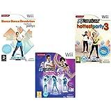 Pack de 3 jeux 100% dance - Wii