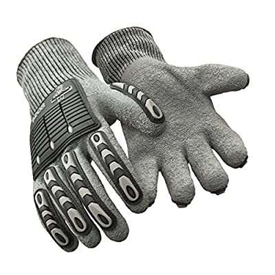 Refrigiwear Men's Ergo Impact Protection Latex Dipped Gloves