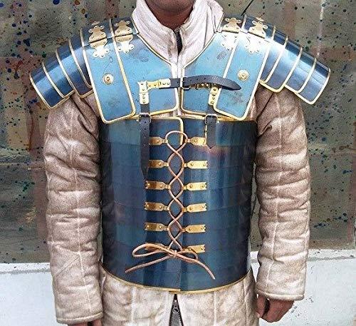 QUALITYMUSICSHOP Lorica Segmentata Segmenta Roman Legionnaires Medieval Armor Breastplate Costume ()