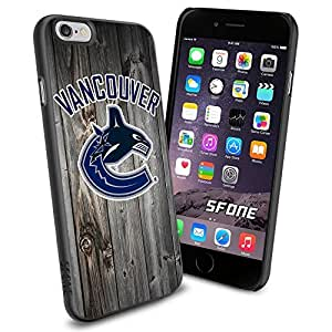 Vancouver Canucks Black Wood #1623 Hockey iPhone 6 (4.7) Case Protection Scratch Proof Soft Case Cover Protector