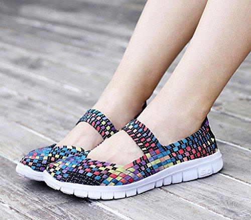 GFONE - Zapatos de tacón  mujer ColorBlue