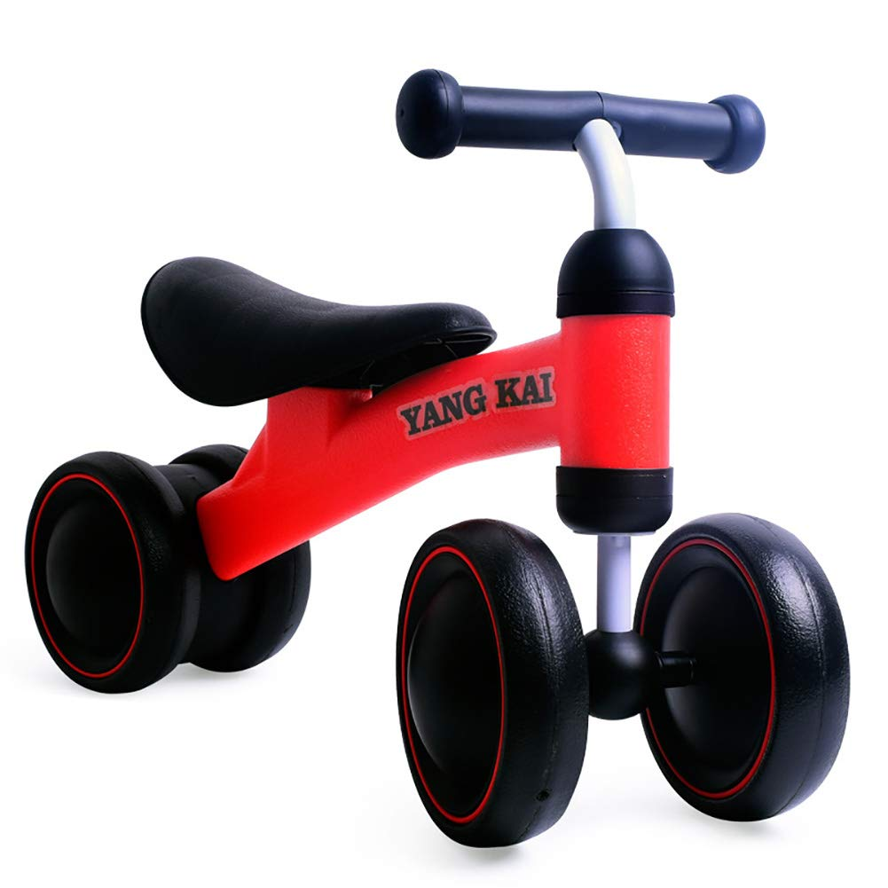 Children's Balanced Bicycles 1-3 Years Old Baby Walker No Foot Twisting Cars Yo-Yo Children Can Take A Toy Car,Red CHB