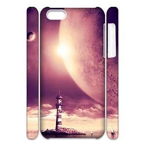 LZHCASE Design Diy hard Case Lighthouse For Iphone 4/4s [Pattern-1]