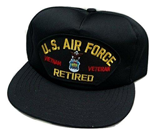 HMC US Air Force Vietnam Veteran Retired Adjustable Ball Cap