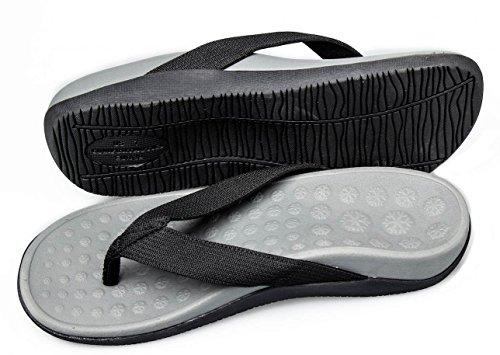 Bodytec Wellbeing Orthopädische Sandalen, mit Senkfußeinlage und Plantarfasziitis-Entlastung