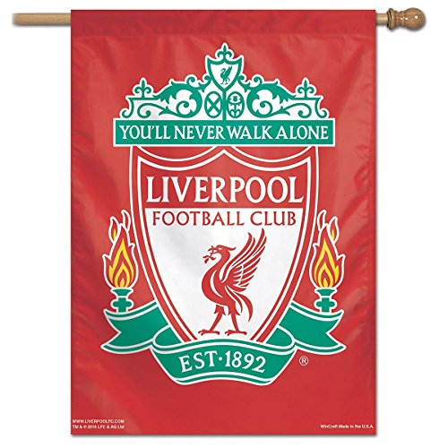 WinCraft Liverpool FC Vertical Banner - Liverpool Flag