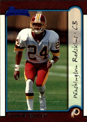 - 1999 Bowman Football Rookie Card #177 Champ Bailey