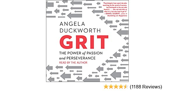 Putting Grit In Its Place >> Amazon Com Grit The Power Of Passion And Perseverance Audible