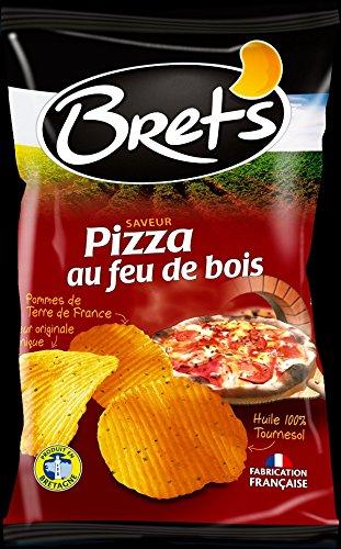 Générique - Cartón DE 10 Bolsita de Chips Sabor Pizza Bret ...
