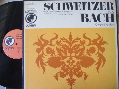 Albert Schweitzer Plays Bach Organ Works (2 Record Set)