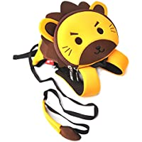 Toddler Kids Backpack Pre-School Zoo Cartoon bag (Lion)