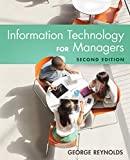 img - for Information Technology for Managers book / textbook / text book