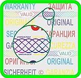 2100 Security hologram labels, void warranty