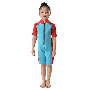 Amazon.com: wingbind bañadores para, manga corta de niños y ...