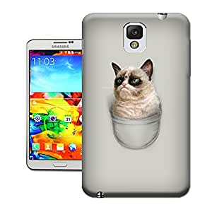 WBOX Special Pattern DIY Grumpy Pocket TUP Mobile Phone Hard Case Cover Fit for Samsung Galaxy Note 3