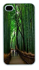 Deep in the bamboo forest Custom For Samsung Galaxy S5 Mini Case Cover Polycarbonate White Halloween gift