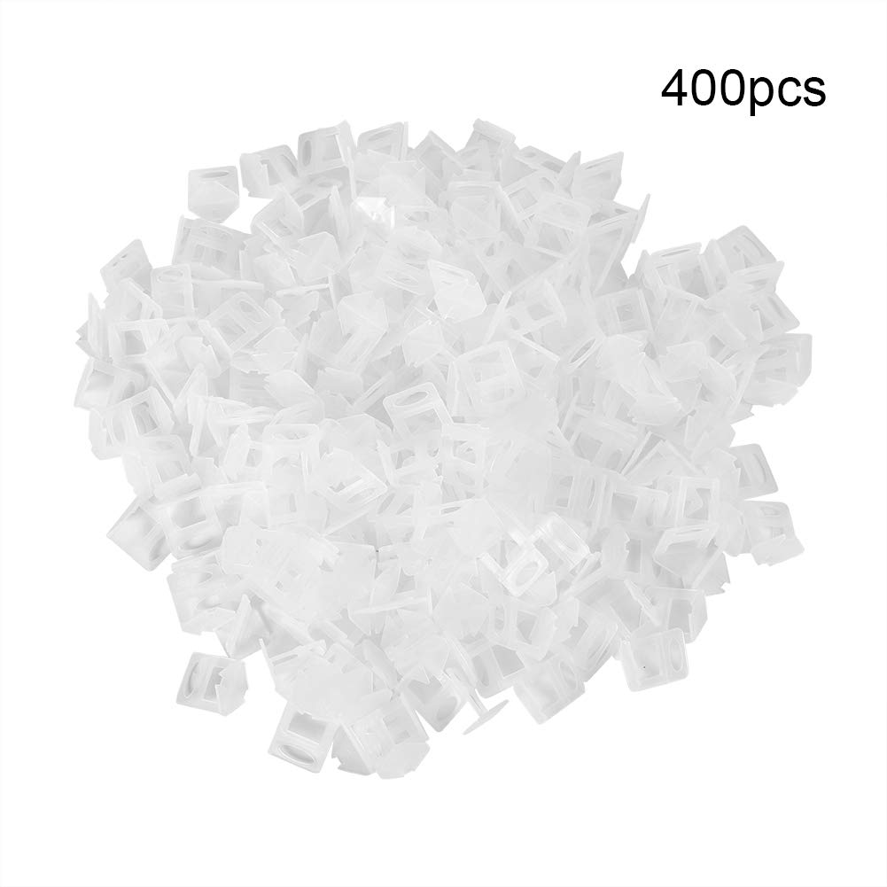 800pcs 2.0mm Clips de Nivelaci/ón de Azulejo Reutilizable Sistema de Nivelaci/ón de Azulejos