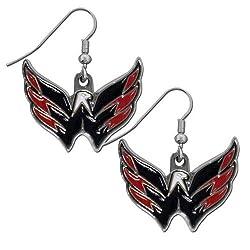 NHL Minnesota Wild Dangle Earrings