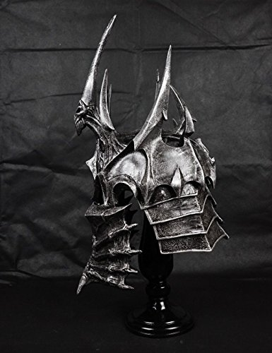 Gmasking 2016 World of WarCraft Lich King Arthas Wearable Helmet Helm 1:1 Replica