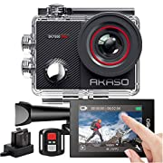 AKASO EK7000 Pro 4K Action Camera with Touch Screen EIS Adjustable View Angle 40m Waterproof Camera Remote Control…