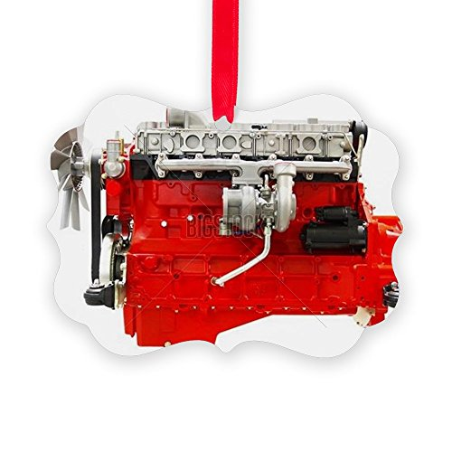 CafePress Engine Christmas Ornament Decorative