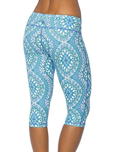 prAna Women's Maison Knicker Pants M BLUE