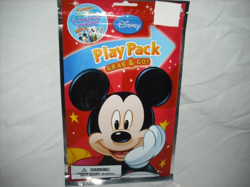Disney Mickey Mouse Play Pack Grab & Go Coloring Pack -