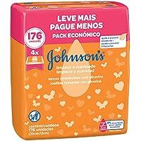 Johnson's lenços umedecidos Limpeza e Suavidade - 4X44 unidades, Johnson's Baby