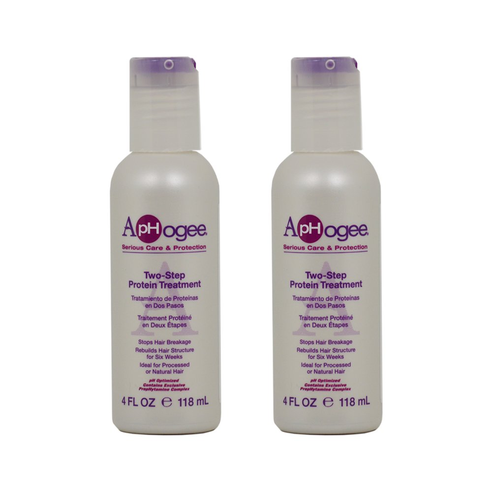 "ApHogee Two-Step Protein Treatment 4oz ""Pack of 2"""