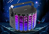 LED Stage Light, 9 Color 14 Modes Butterfly Effect RGB Auto Sound Stage Par Light Lamp for KTV Christmas Party 110V US with Remote Controller