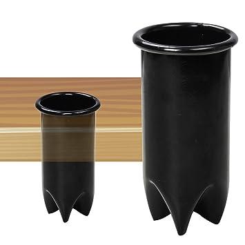 Amazon.com: (3 piezas) secador aparato soporte inserto salón ...