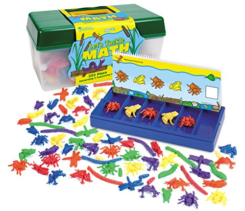 Learning Resources Let's Tackle Math, 252 Pieces (Frog Counters)