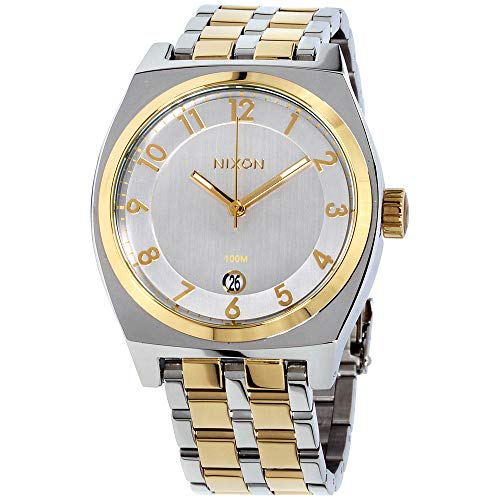 Nixon Monopoly Silver Dial Stainless Steel Ladies Watch A325143100