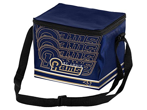 (NFL St. Louis Rams Impact 6 Pack Cooler, One Size Fits All, Team Color)