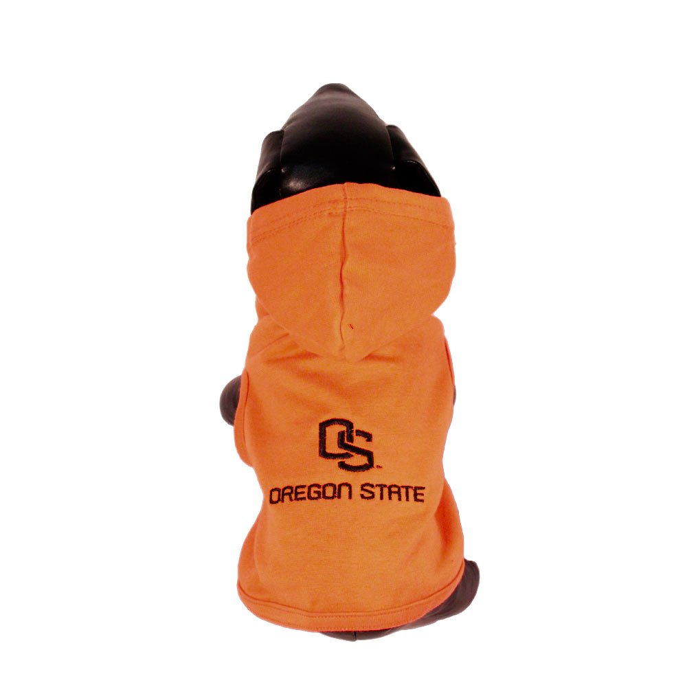 All Star Dogs Oregon State Beavers Cotton Lycra Hooded Dog Shirt, X-Large