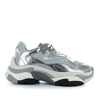 2ef39a3ce2c Ash Chaussures Femme Basket Addict Argent  Amazon.fr  Chaussures et Sacs
