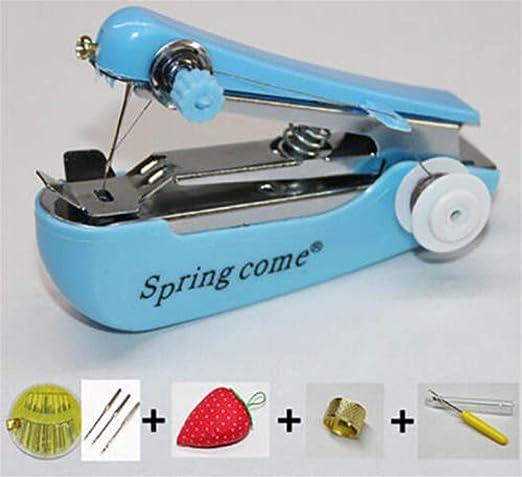 Mini Máquina De Coser Manual Mini Bolsillo Portátil Para El Hogar ...
