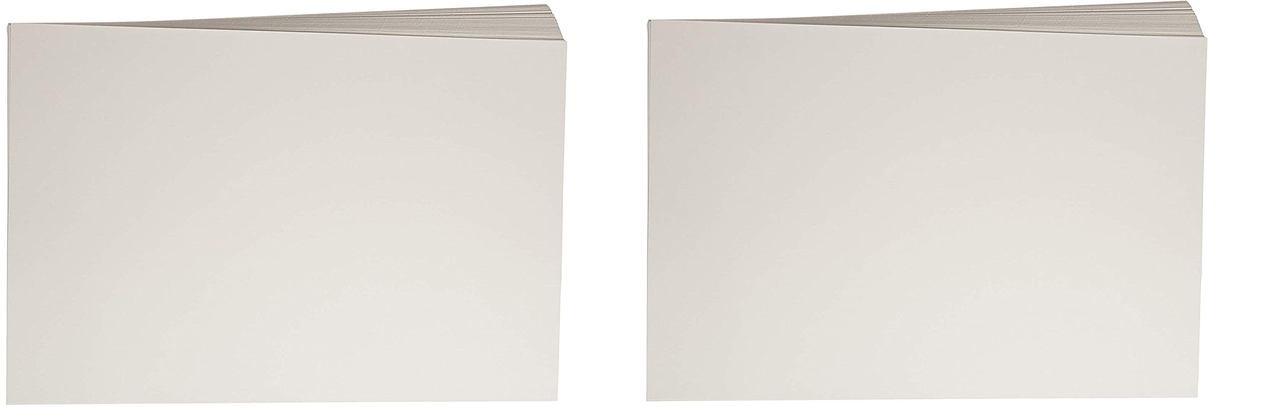 Sax Watercolor Beginner Paper, 90 lbs, 12 x 18 Inches, Natural White, Pack of 100 (2 X Pack of 100)