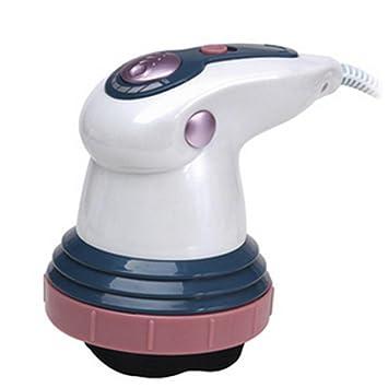 HHORD Empuje eléctrica máquina vibradora de grasa, Shiatsu electrónica anti-celulitis masaje del cuerpo de la máquina para adelgazar: Amazon.es: Deportes y ...