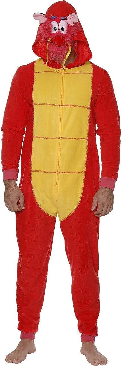 Disney Men's Goofy COS Play ONE Piece Pajama Union Suit