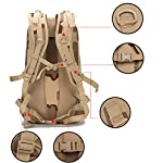 XRPXRP 35L Tactical Attack Backpack Waterproof Military Molle Backpack Military Backpack Hiking Camping Hiking Hunting 8