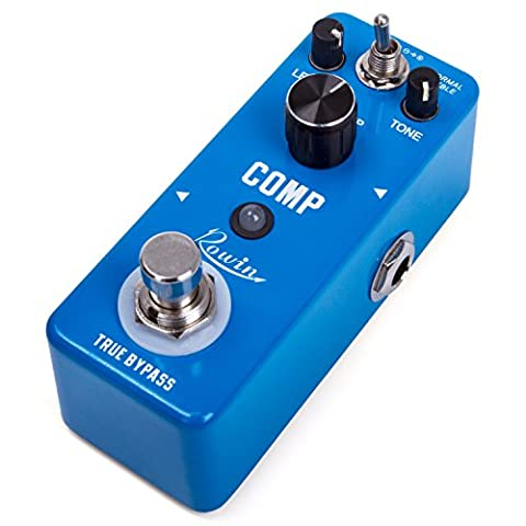 Beaspire Compressor Pedal Ultimate Comp Dynamics Guitar Effect Pedal True Bypass Musical Instrument for Electronic Guitar and (Bass Guitar Volume Pedal)
