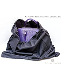 Tiffany Hansen's Cotton Large Drawstring Shoe & Purse Travel Storage Bag (8)