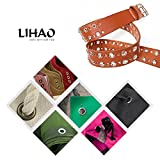 LIHAO 360 Pieces 3/16 Inch Metal Eyelets Grommets